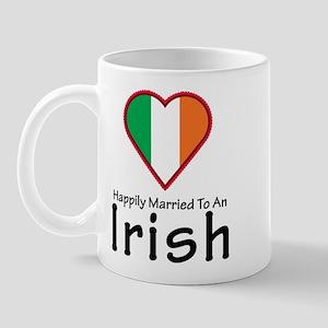 Happily Married Irish Mug