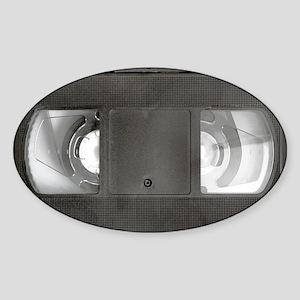 VHS tape Sticker (Oval)