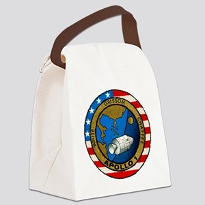 Apollo 1 Mission Patch Canvas Lunch Bag