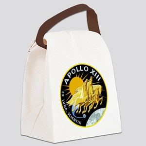 Apollo 13 Mission Patch Canvas Lunch Bag