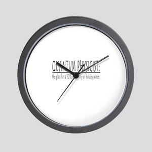 QUANTUM PHYSICIST Wall Clock