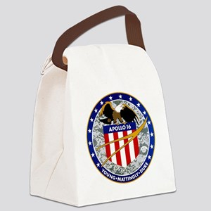 Apollo 16 Mission Patch Canvas Lunch Bag
