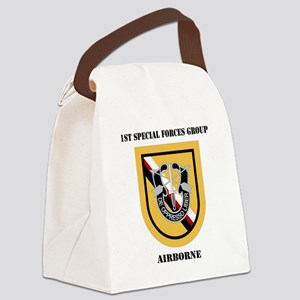 DUI - 1st Special Forces Group (A Canvas Lunch Bag