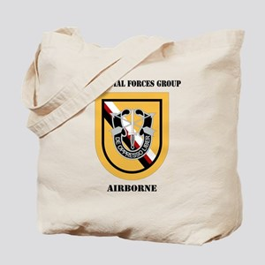 DUI - 1st Special Forces Group (Airborne) Tote Bag