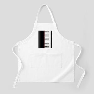 Piano Keyboard Twin Duvet Apron