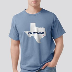Houston, Texas - On My M Mens Comfort Colors Shirt