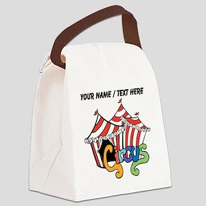 Custom Circus Canvas Lunch Bag