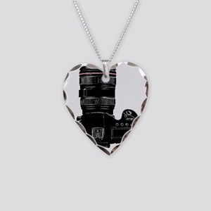 Camera Up! Necklace Heart Charm