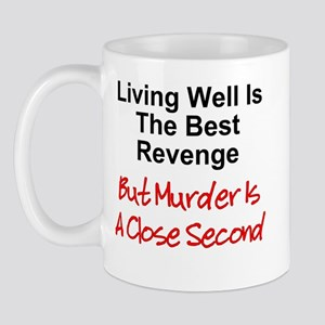 Murder Is Second Mug