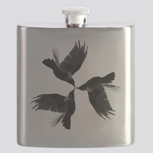 Crow Tessellation Flask