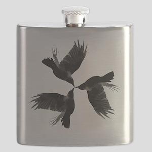 Crow Tessellation Flask