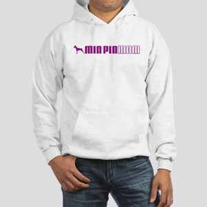 Min Pin Mom 2 Hooded Sweatshirt