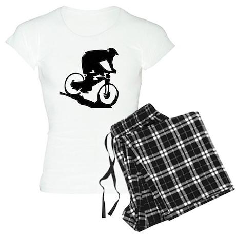 Mountain Biker Women's Light Pajamas