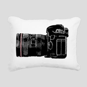 Camera Out! Rectangular Canvas Pillow