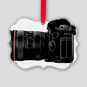 Camera Out! Picture Ornament