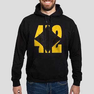 412 Gold/Black-W Hoodie (dark)