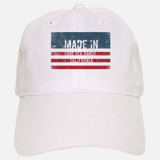 Made in The Sea Ranch, California Baseball Baseball Cap