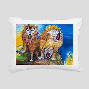Leo Rectangular Canvas Pillow