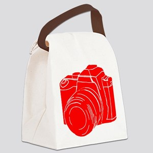 RED! Canvas Lunch Bag