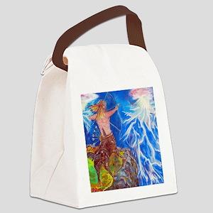 Sagittarius Canvas Lunch Bag