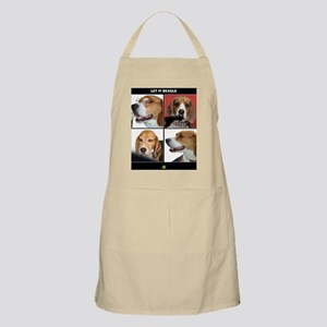 Let It Beagle rectangle Apron