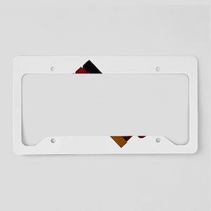 Horn-Ratchet-Ball License Plate Holder