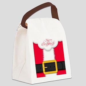 Merry Christmas King Duvet Canvas Lunch Bag