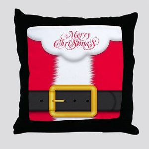 Merry Christmas King Duvet Throw Pillow