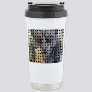Woven picture Stainless Steel Travel Mug