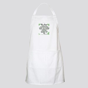 Funny Oscar Wilde Quote BBQ Apron