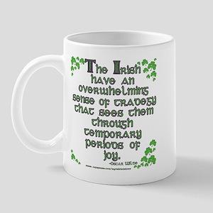 Funny Oscar Wilde Quote Mug