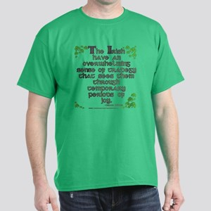 Funny Oscar Wilde Quote Dark T-Shirt
