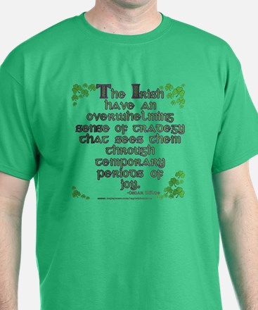Funny Oscar Wilde Quote T-Shirt