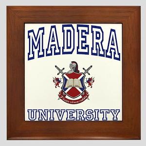 MADERA University Framed Tile