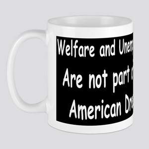 Obama not part of the American dream Mug