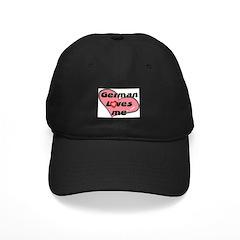 german loves me Baseball Hat