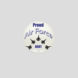 Proud Air Force Brat Mini Button