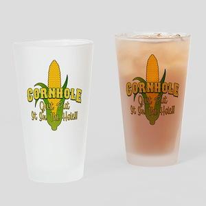 Cornhole Drinking Glass