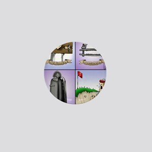 GOLF 074 Mini Button