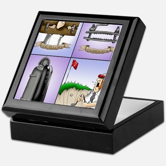 GOLF 074 Keepsake Box