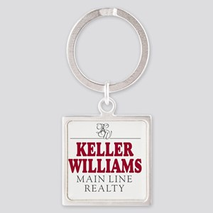 Keller Williams Mugs Square Keychain