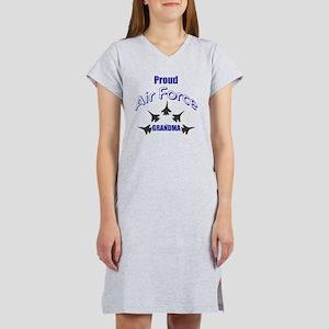 Proud Air Force Grandma Women's Nightshirt