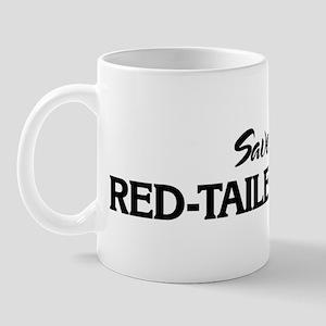 Save the RED-TAILED HAWKS Mug