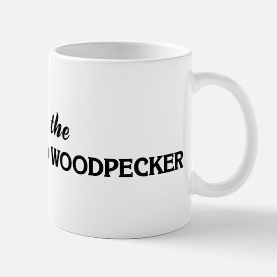 Save the RED-COCKADED WOODPEC Mug