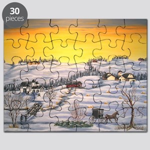 Amish in Lancaster County Pennsylvania Puzzle