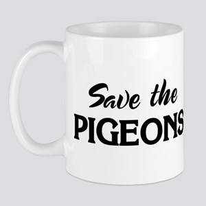 Save the PIGEONS Mug