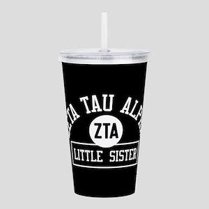 Zeta Tau Alpha Little Acrylic Double-wall Tumbler
