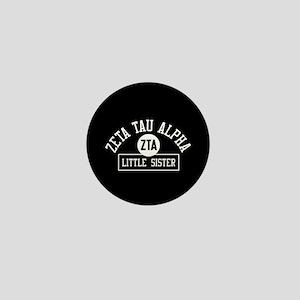 Zeta Tau Alpha Little Sister Mini Button