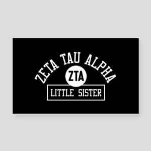Zeta Tau Alpha Little Sister Rectangle Car Magnet