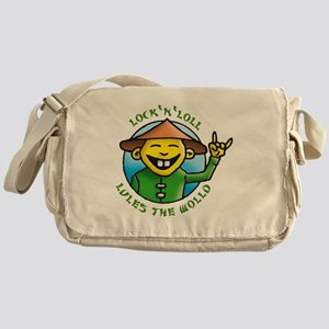 lock and loll lules the wold Messenger Bag